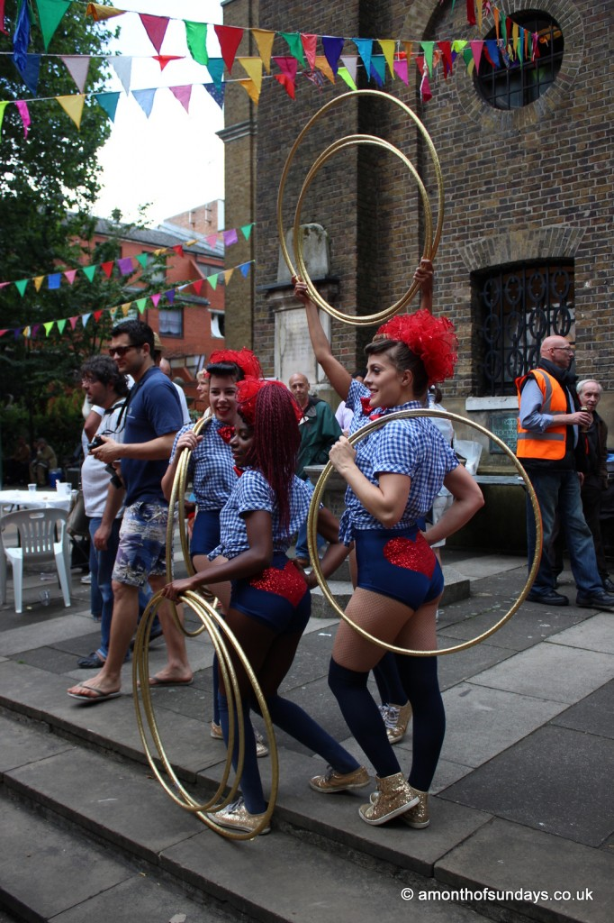 Soho Village Fete dancers