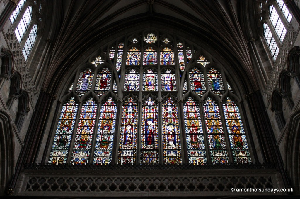Exeter Cathedral window