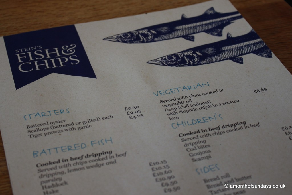 Rick Stein's fish and chips