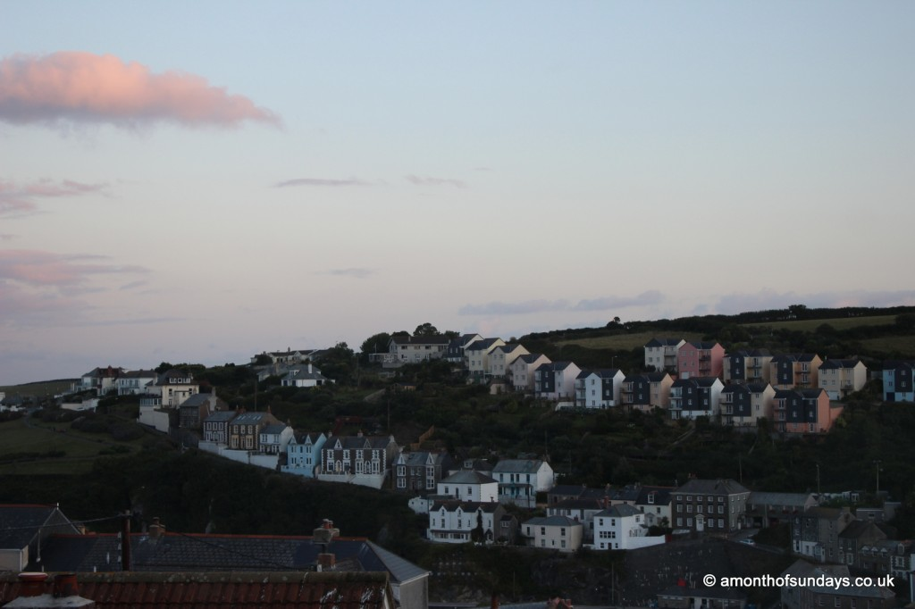 Mevagissey at dusk