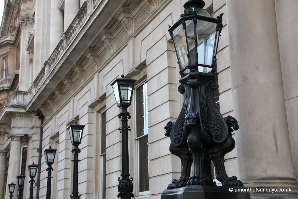 HSBC lampposts