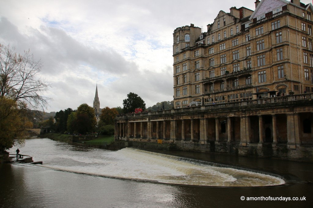 Weir at Pulteney Bridge