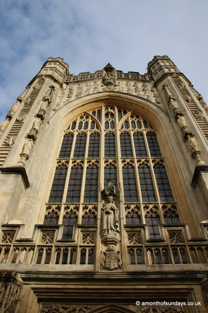 Front of Bath Abbey