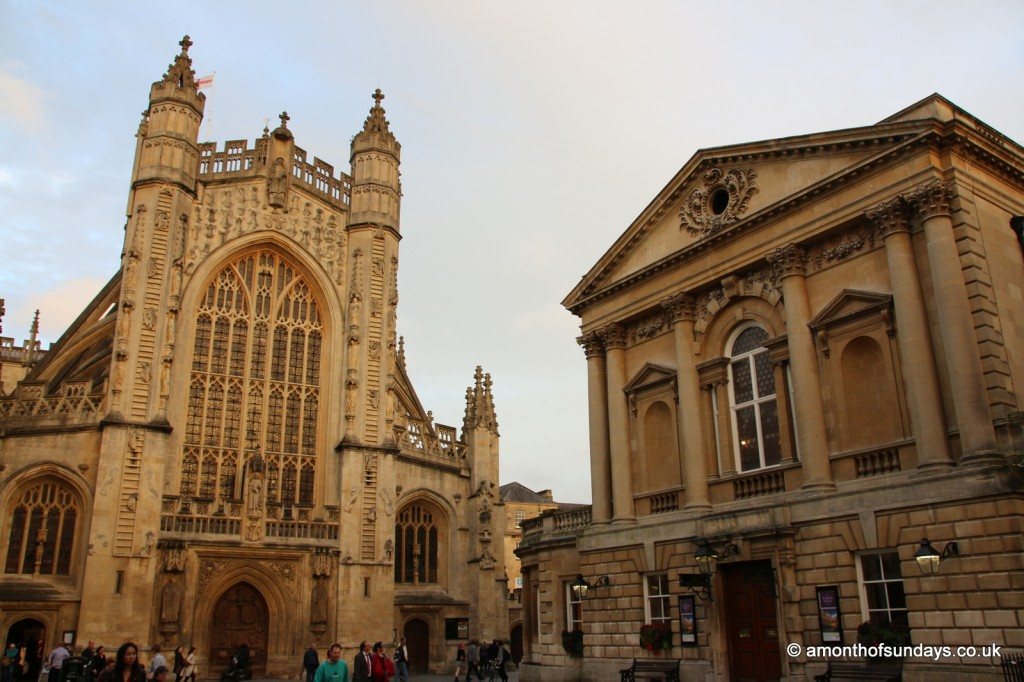 Bath Abbey and Roman Baths
