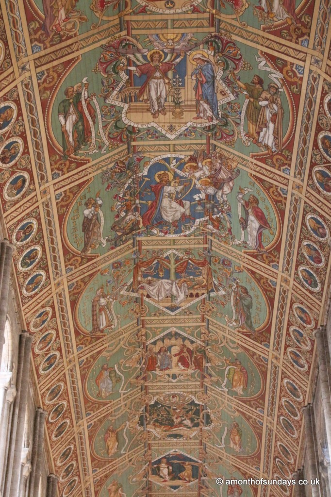 Ceiling of Ely cathedral nave