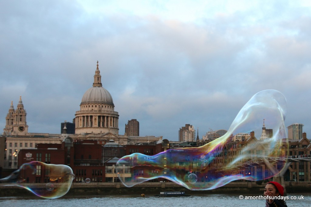 Bubble over St. Paul's