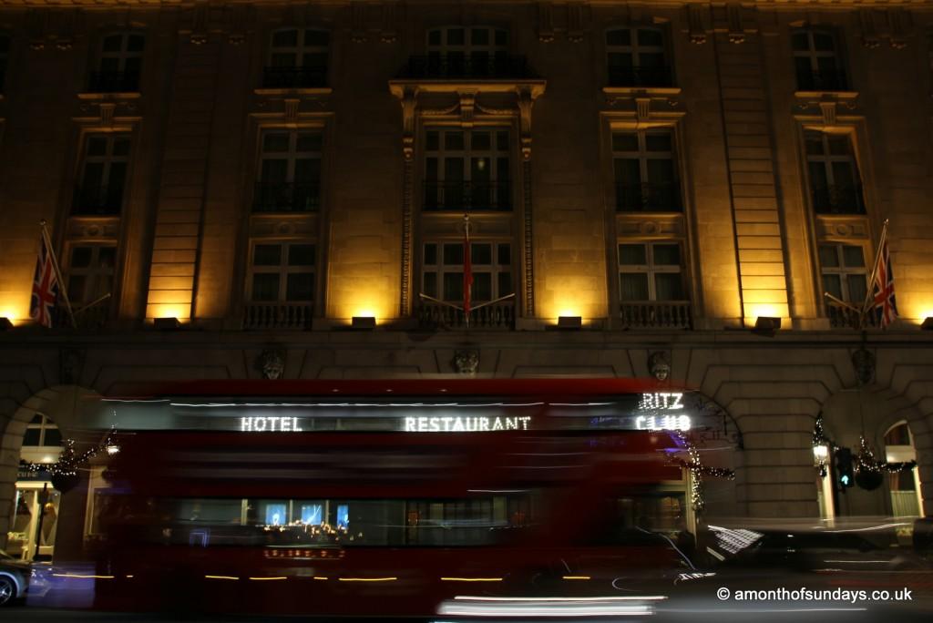 Ritz at night