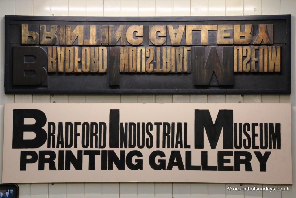 Bradford Industrial Museum sign
