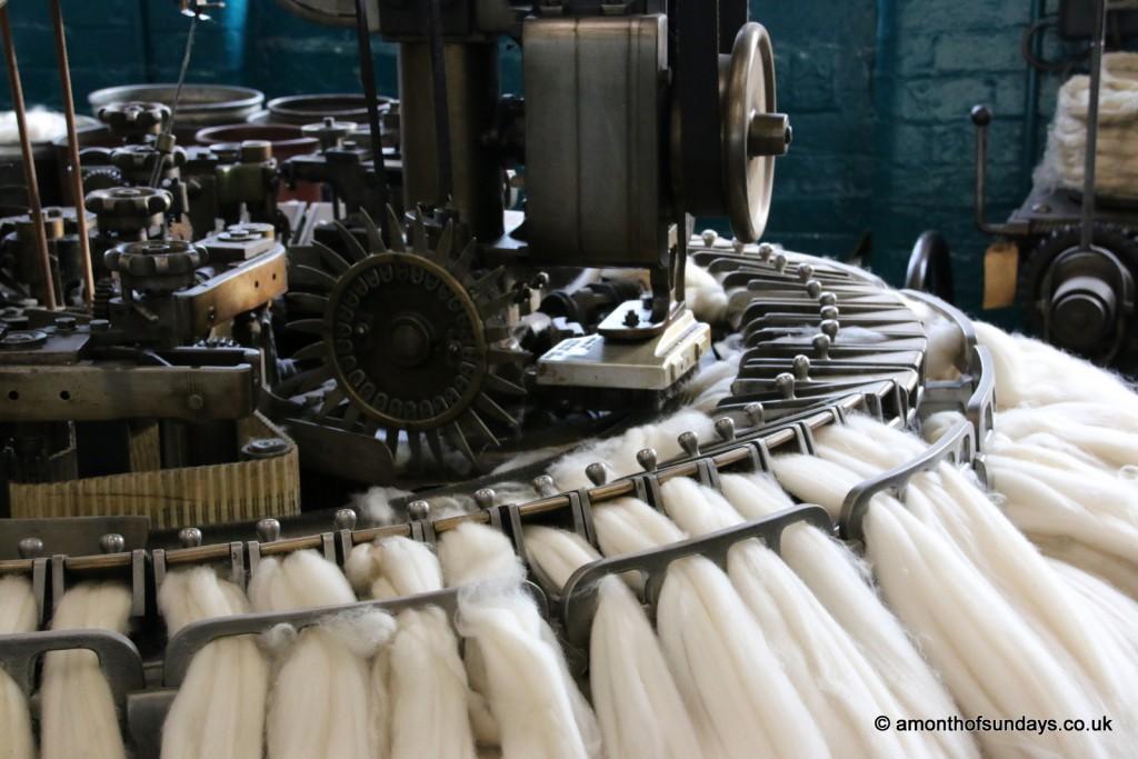 Industrial comber