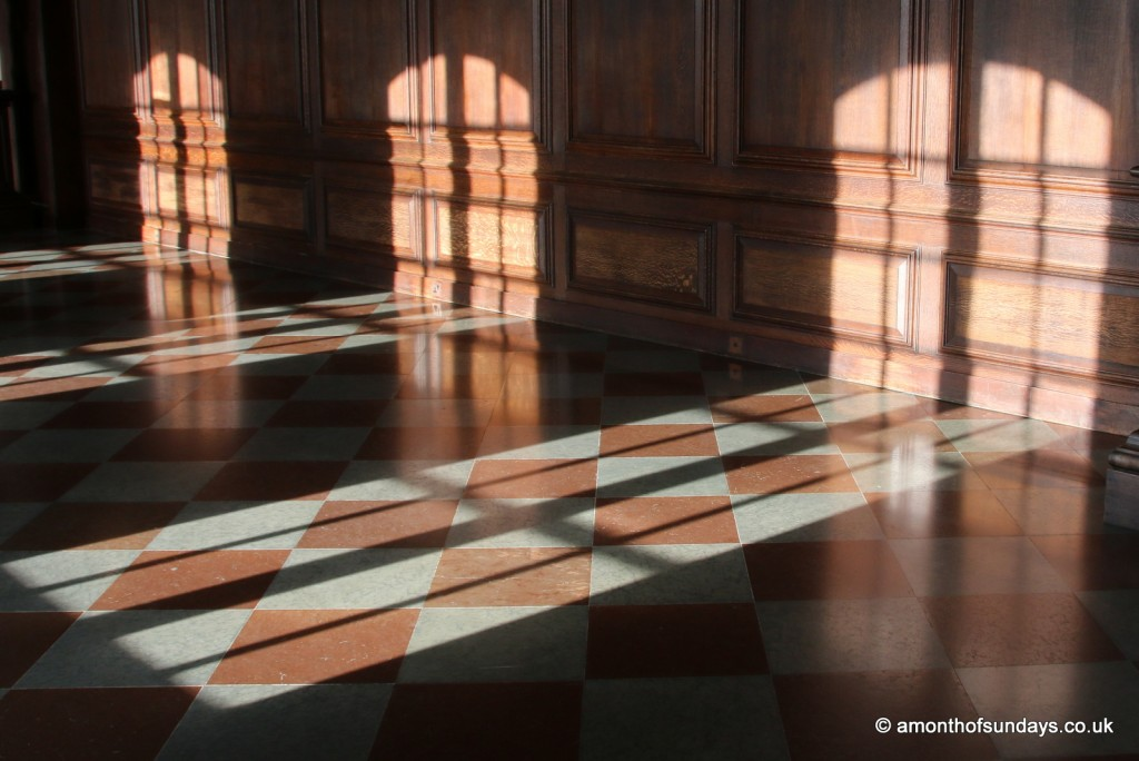 Window shadows at Hampton Court Palace