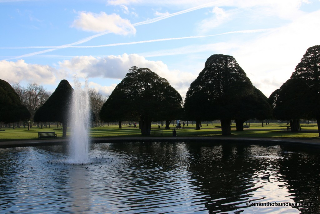 Fountain at Hampton Court Palace