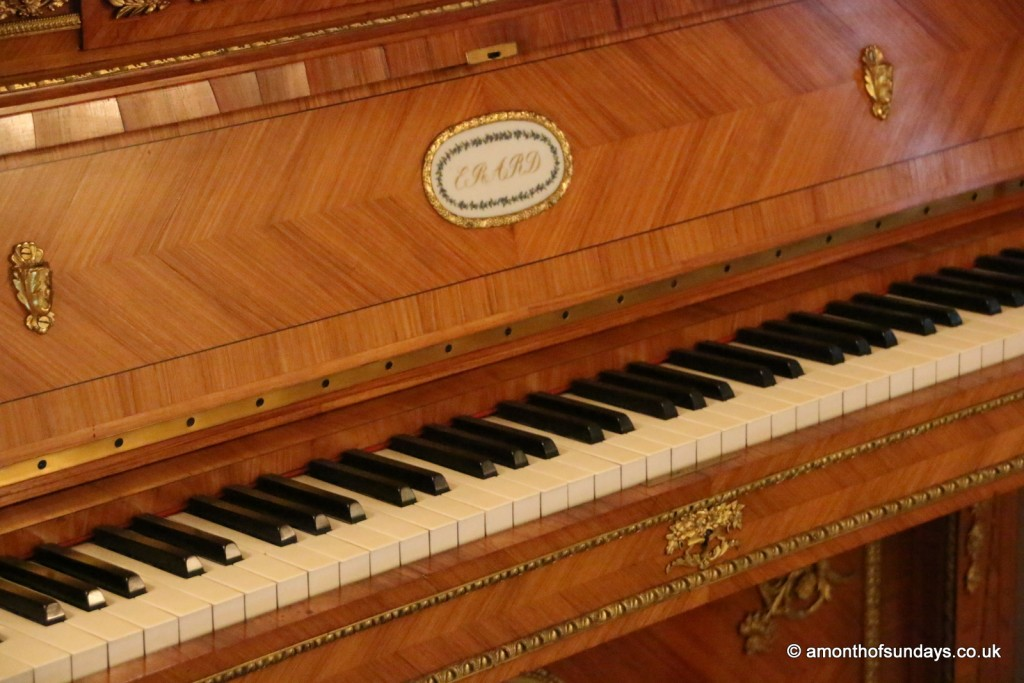 Victoria and Albert's piano at Kensington Palace