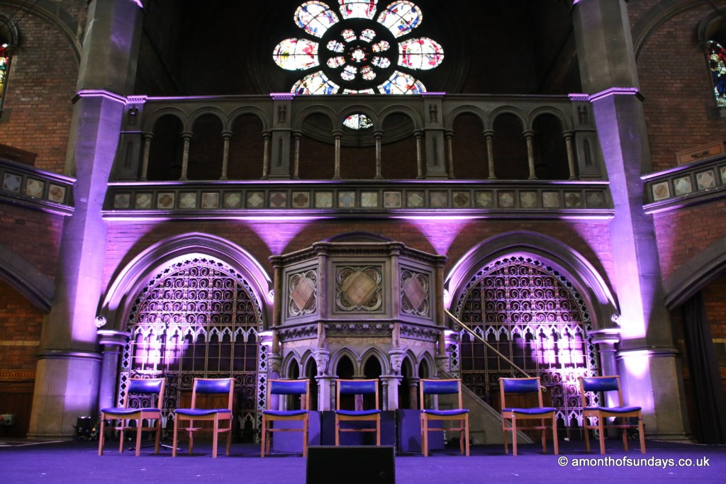 Inside Union Chapel, Islington