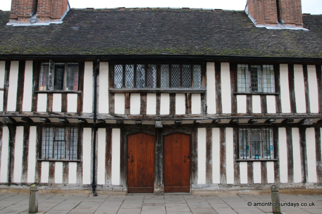 Alms houses in Stratford-upon-Avon