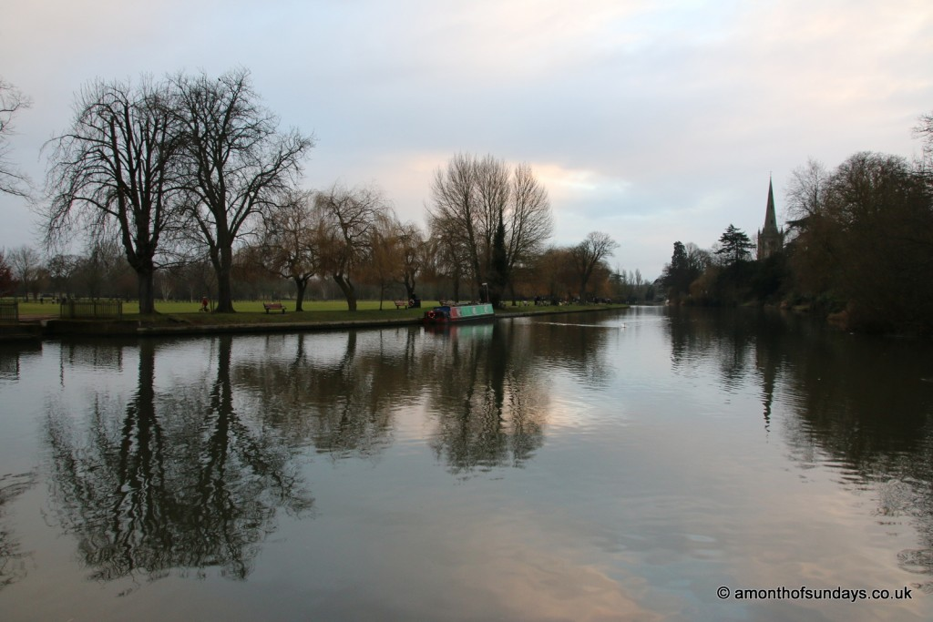 The River Avon in Stratford-upon-Avon