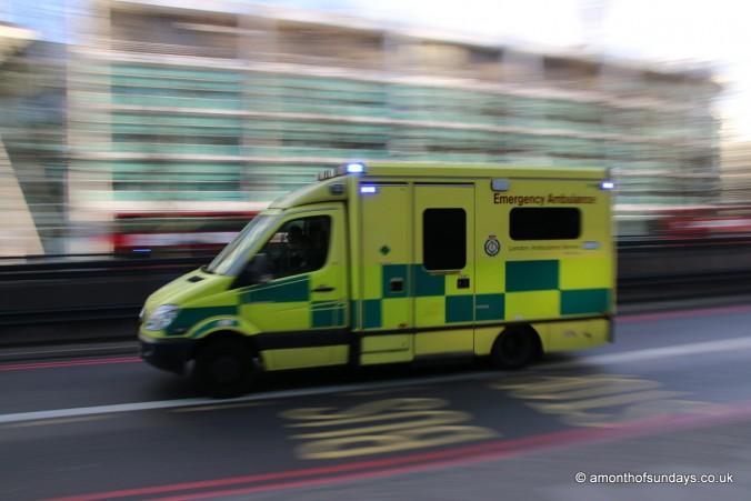 Ambulance on call