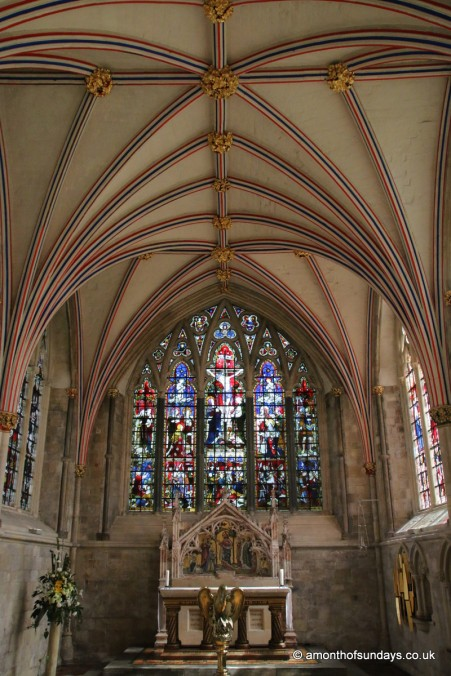 Lady chapel at Chichester cathedral