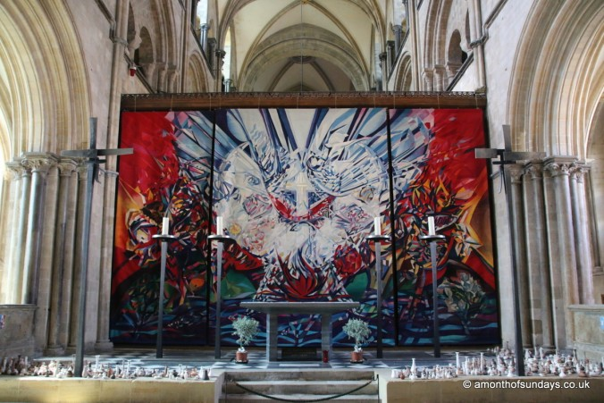 Rear altar at Chichester cathedral