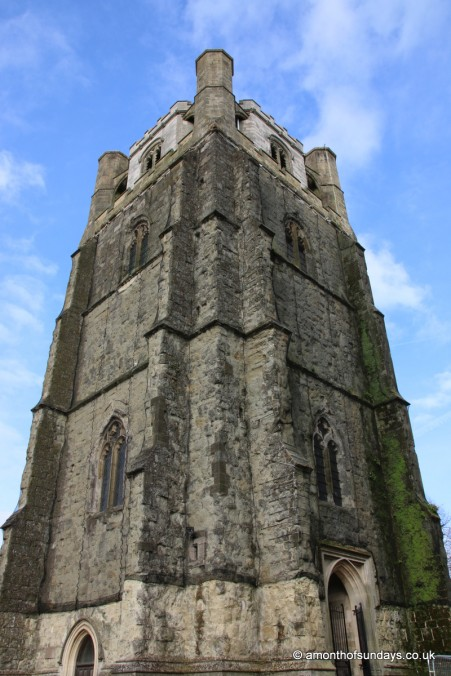 Old tower at Chichester cathedral