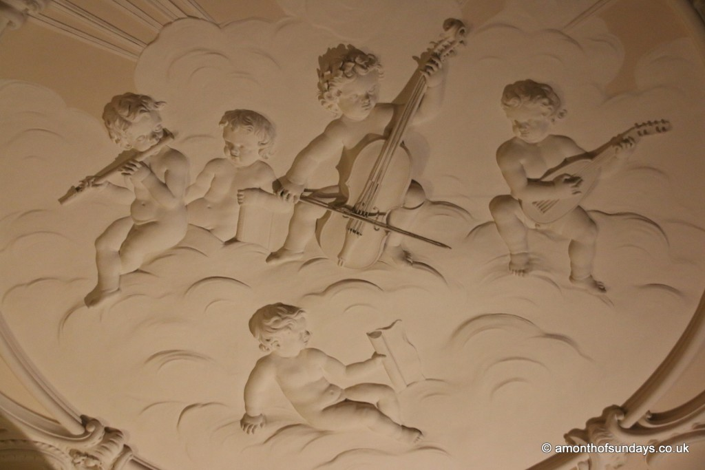 Ceiling decoration at Nostell Priory