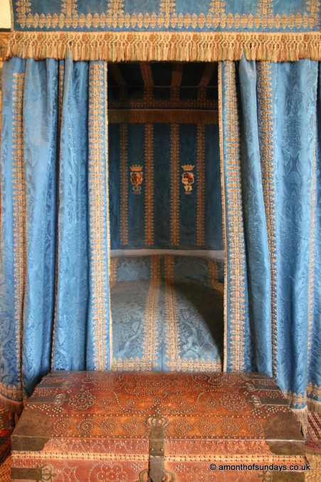 Bedroom at Hardwick Hall