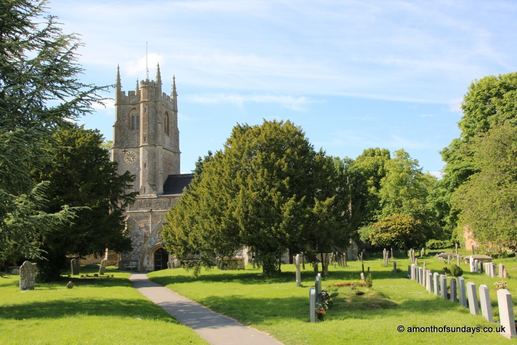Avebury Church outside