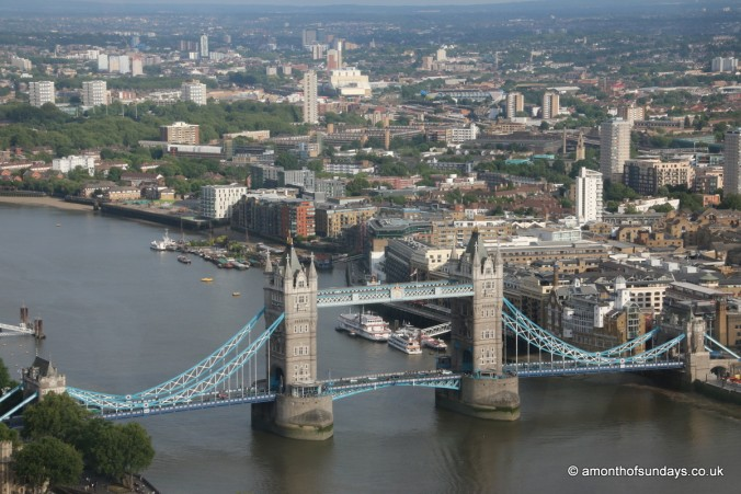 View over Tower Bridge