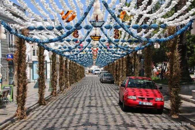 Festival decorations in Tavira