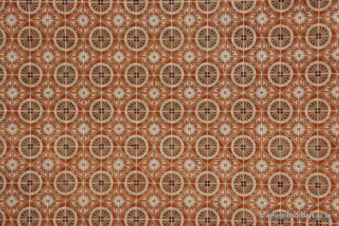Tiles in Tavira