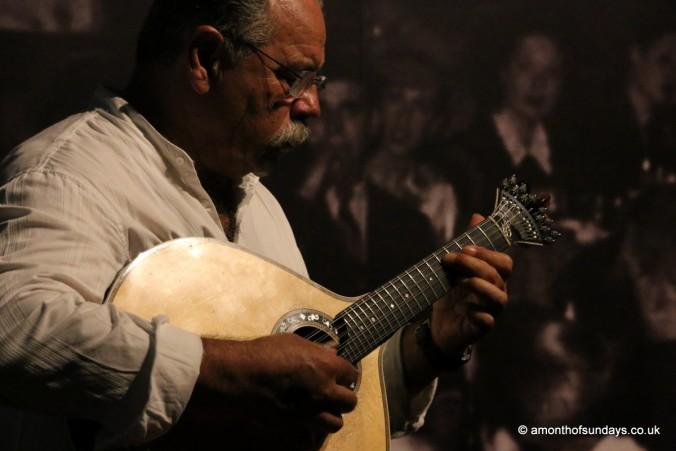 Fado musician in Tavira