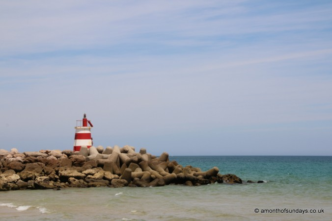 Lighthouse on Ilha de Tavira
