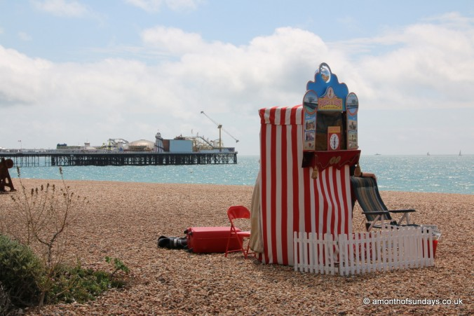 Punch and Judy in Brighton