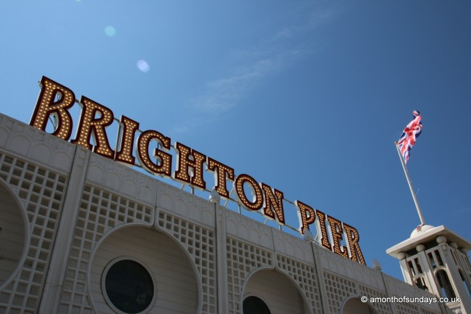 Entrance to Brighton Pier