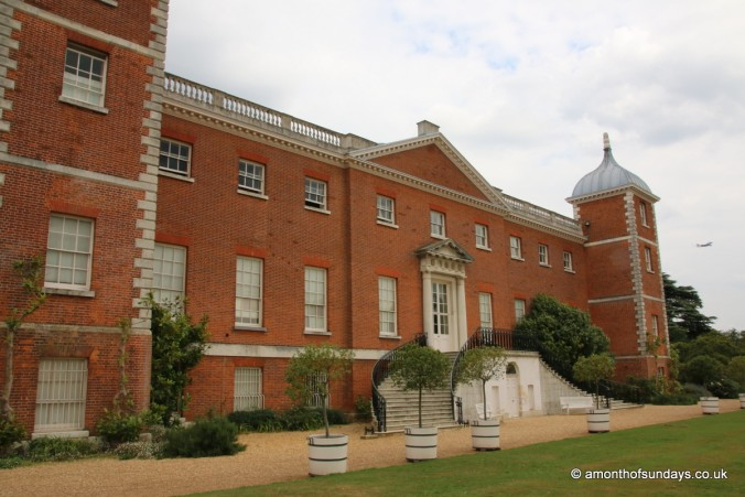 Back of house at Osterley Park