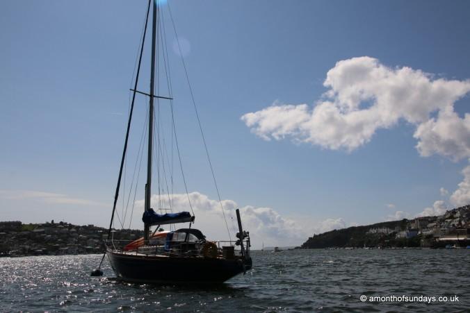 Boat in Fowey