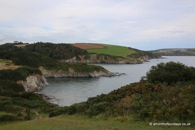 View towards Fowey