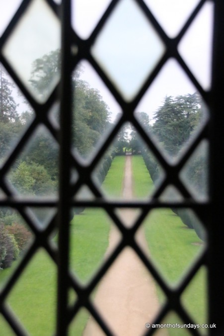 Entrance through window