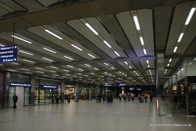 Inside St Pancras