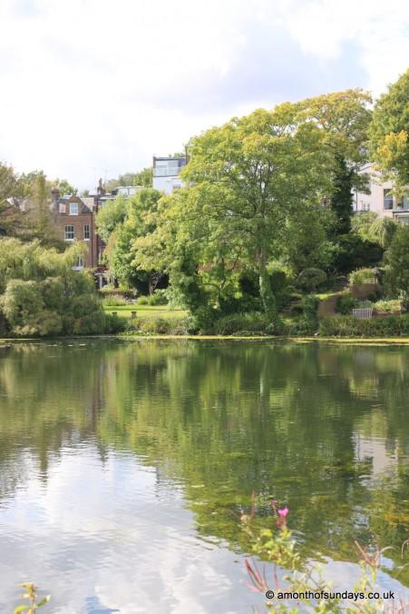 Vale of Health at Hampstead Heath