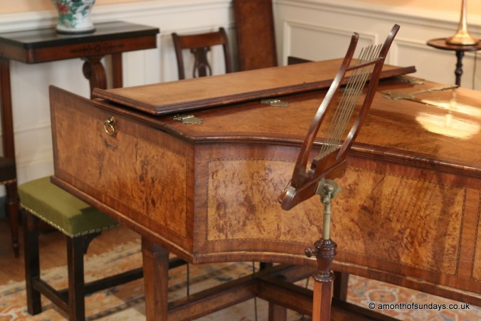 Harpsichord in Fenton House