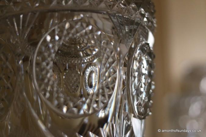 Crystal vase in Fenton House