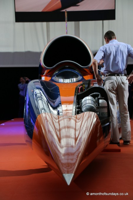 Front of Bloodhound SSC