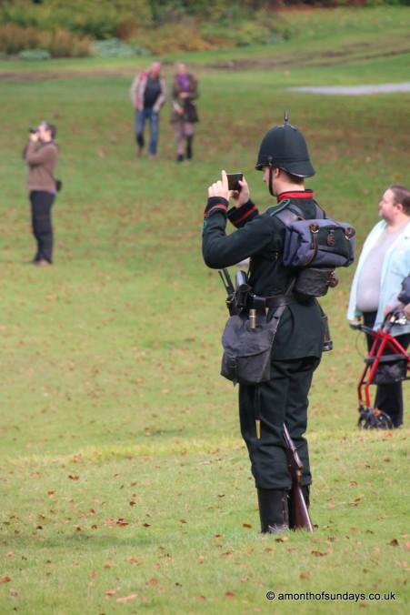 Soldier at Clandon Park