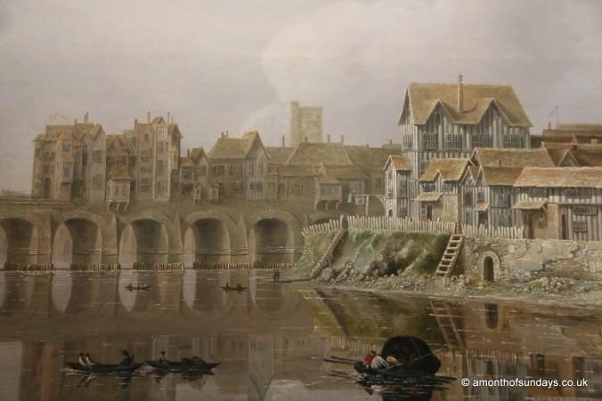 Painting of London Bridge at Kenwood House