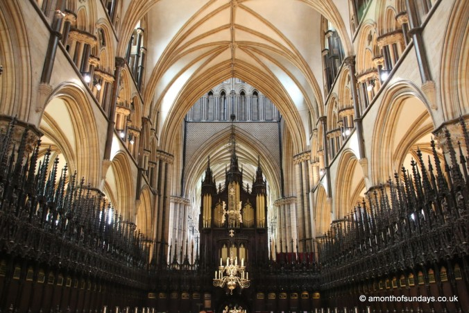 Quire at Lincoln Cathedral