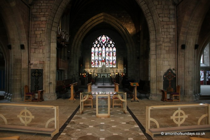 Inside St. Asaph's Cathedral
