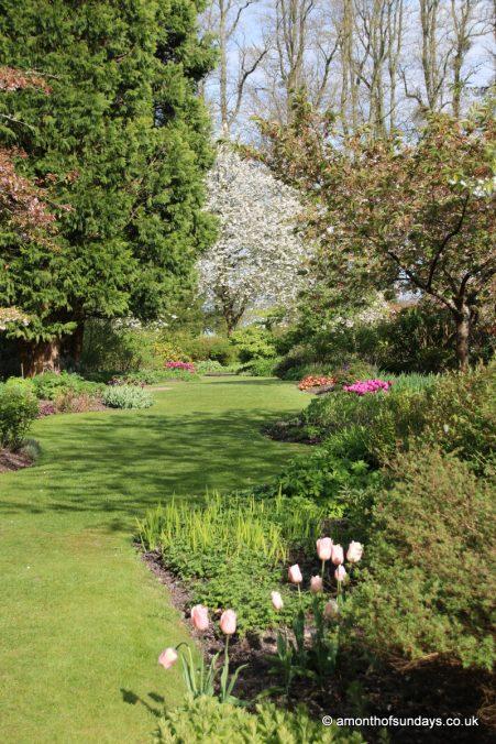 Garden at Highclere Castle