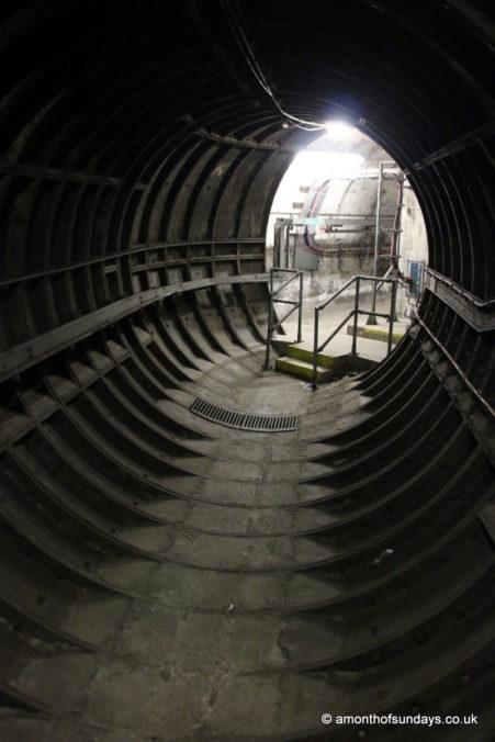 Tunnel on Euston: Lost Tunnels tour