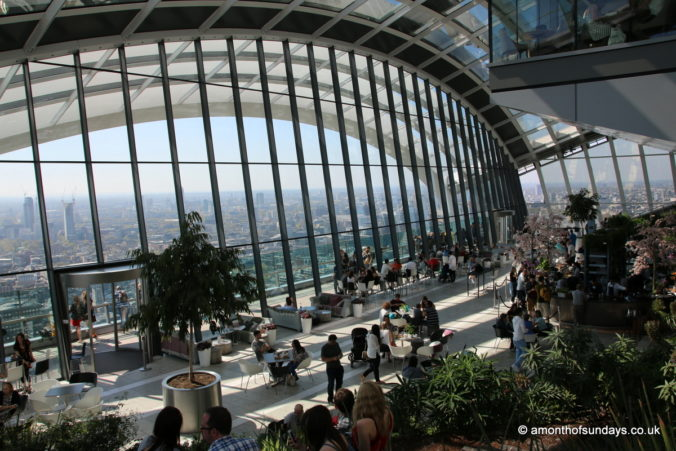Inside 20 Fenchurch Street (Sky Garden)